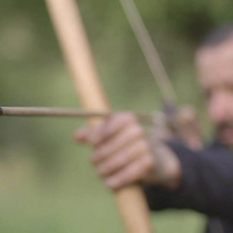 Demonstração de Arco e Flecha