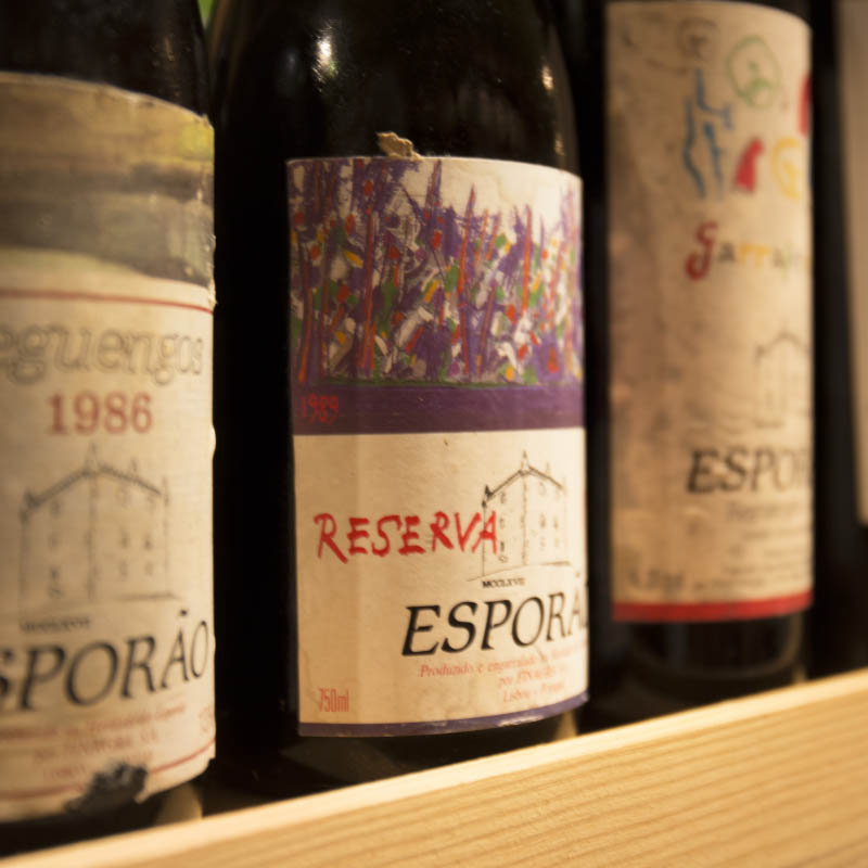 Tasting of Esporão's own wine cellar