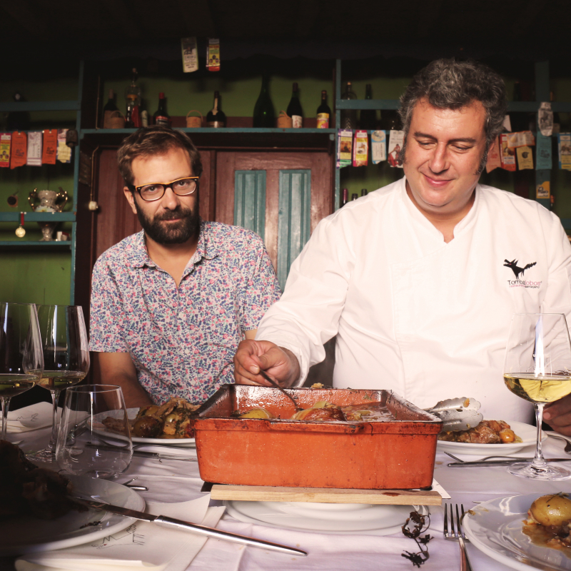 Espaço Esporão & A Comida Portuguesa a Gostar Dela Própria